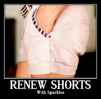 DIY - Revamp Old Jeans Shorts