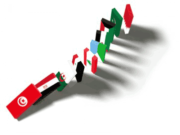 la proxima guerra domino paises arabe