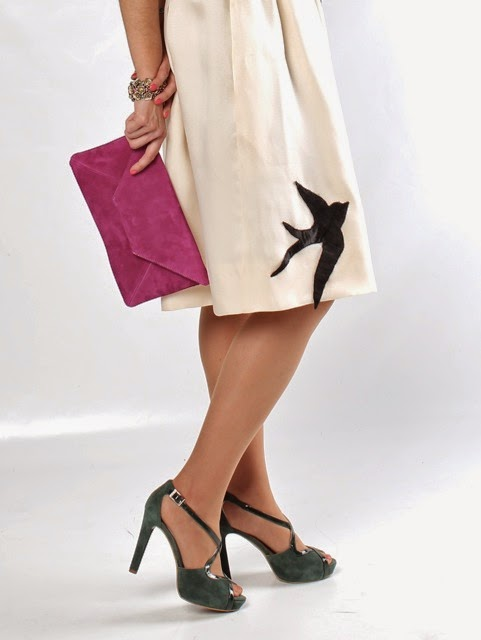 Blog zapatos y mujer c mo contrastar con xito los tonos - Que colores pegan ...