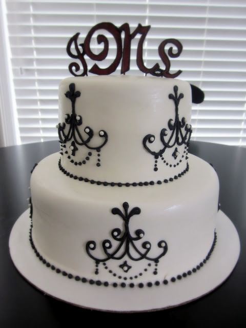 Darlin 39 Designs Chandelier Cake