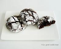 Craquelés aux chocolats
