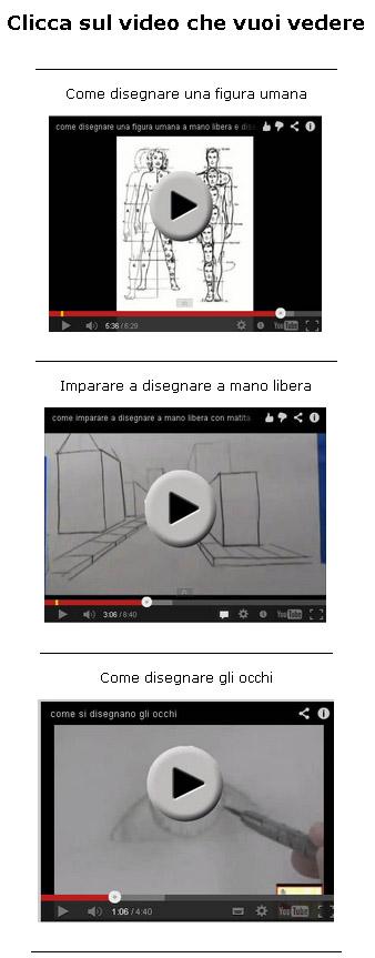 Per vedere le video lezioni