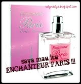 end 050311@2nd contest :: saya mau itu ENCHANTEUR PARIS !!