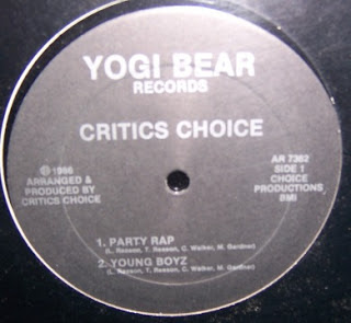 Critics Choice – Party Rap 12' (1986) (320kbs)