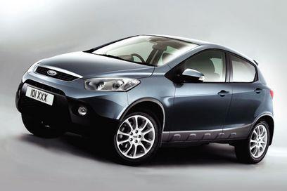 Ford fiesta suv a dream car for Suv 4x4 economici