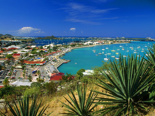 Marigot Bay, Saint Martin, Antillas Francesas