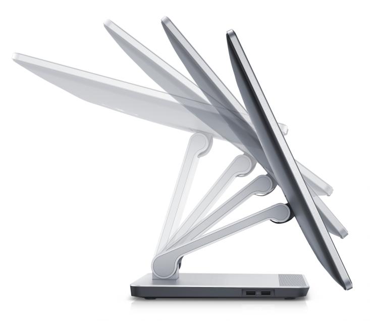 Изображение хода дисплея Dell Inspiron 23