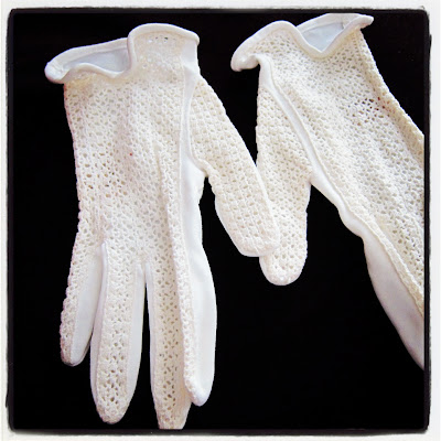 Marhsmallow Electra vintage gloves Etsy