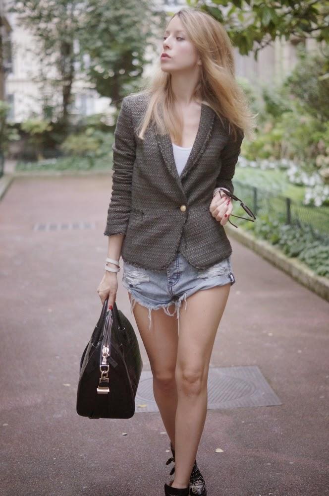 oneteaspoon, zara, zara jacket, chloé susanna boots, givenchy, fashion blogger, streetstyle, fall, parisienne, look du jour, outfit