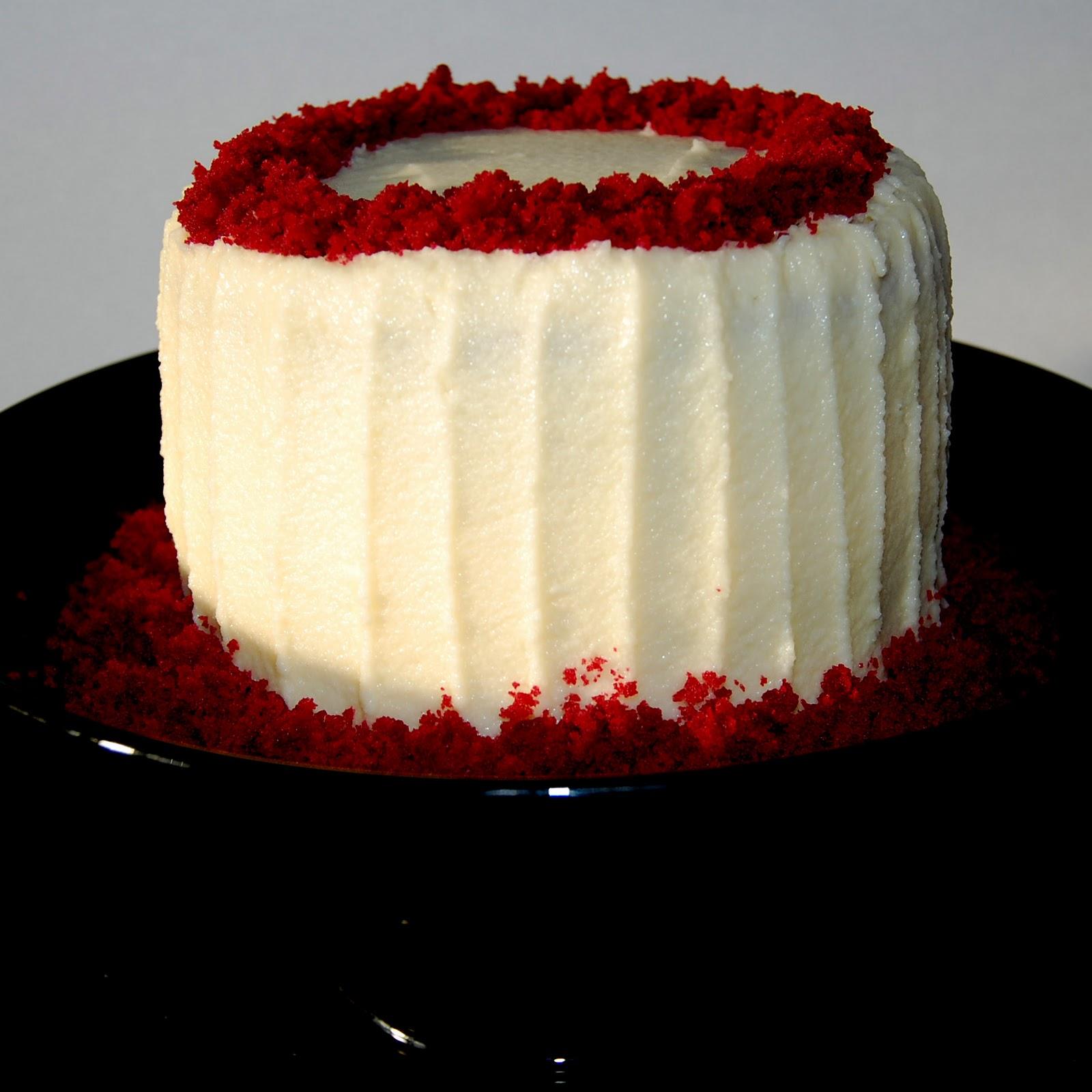 Red Velvet Cake White Chocolate Cheesecake Layer Cake