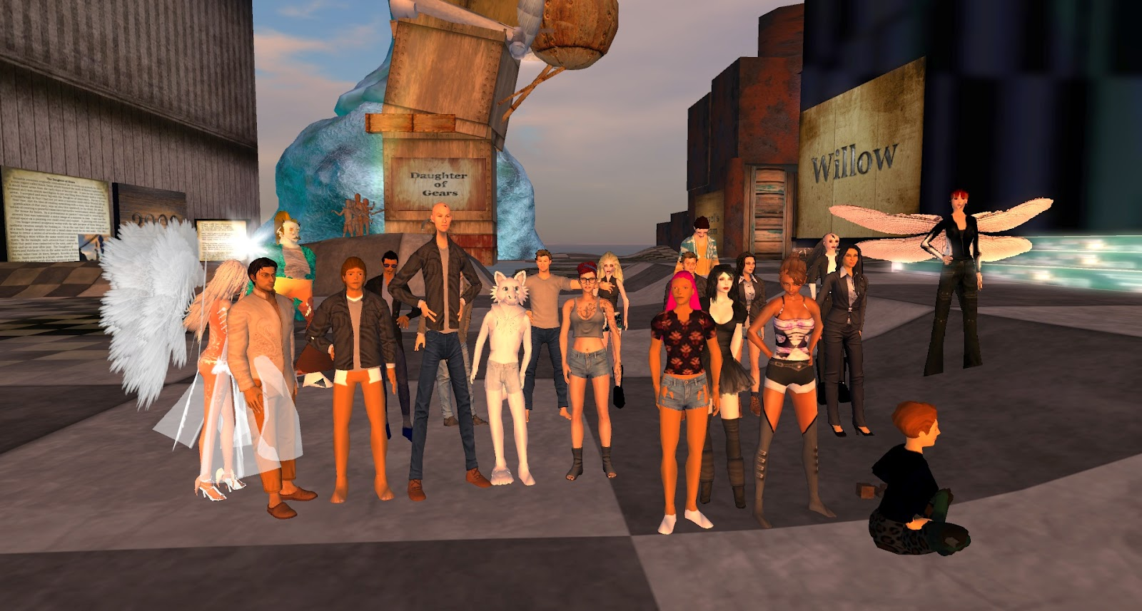 the university of western uwa in second life york york university student assignment uwa 3d art gallery your help needed