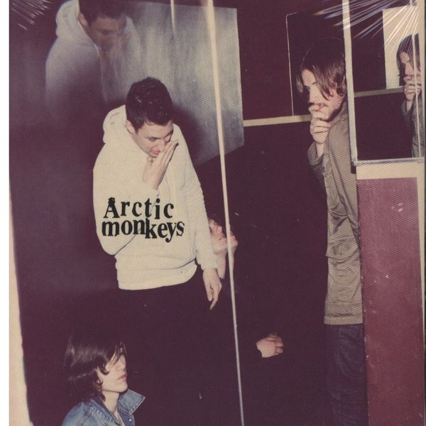 Arctic monkeys suck it and see album cover