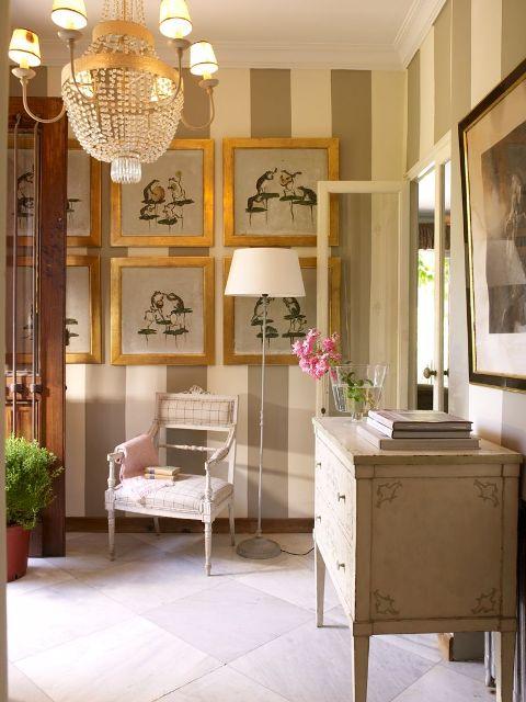 Dise ar y decorar el recibidor trucos decorar tu casa - Decorar el recibidor ...