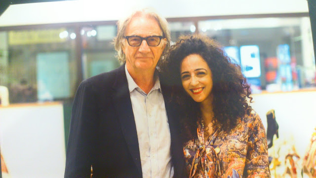 Paul Smith and Rana Wehbe-Flinter