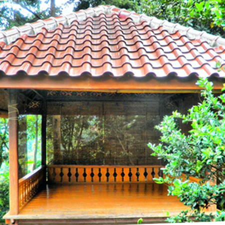 aneka contoh desain saung yang indah - desain rumah