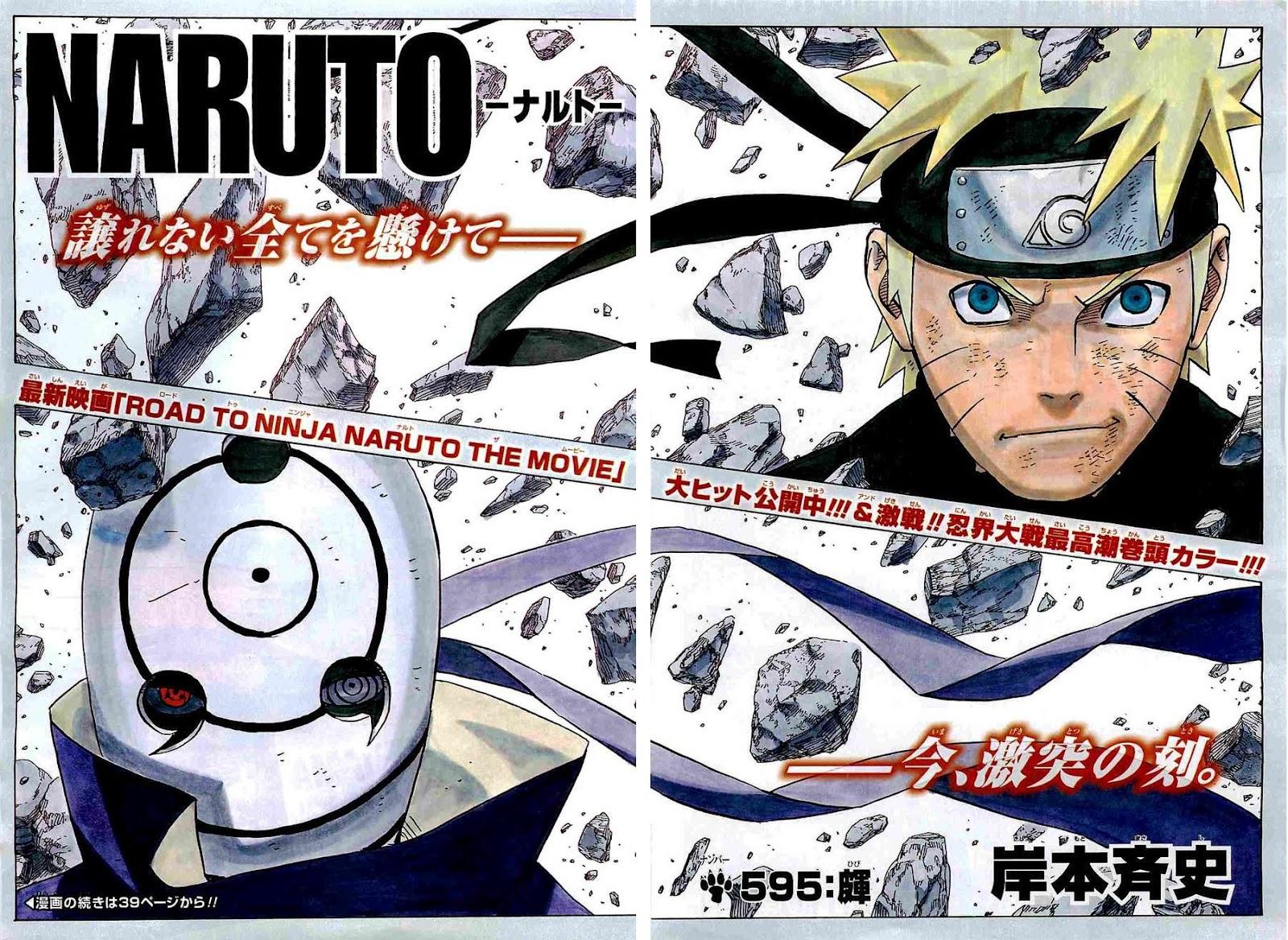 Ismoísta: No reseña: Naruto #595