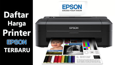 Daftar Harga Printer EPSON Terbaru Juli 2015