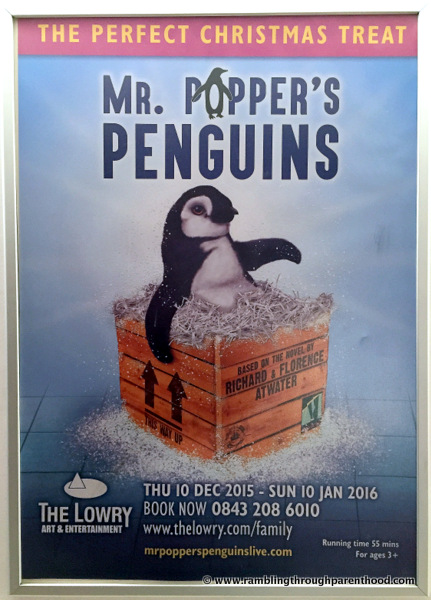 Mr Popper's Penguins at The Lowry