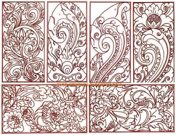 motif hias di indonesia sangat beragam macam macam motif hias