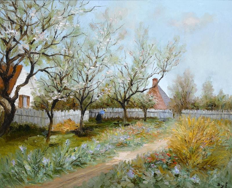 Marcel Dyf 1899-1985 | French  Impressionist painter | En plein air