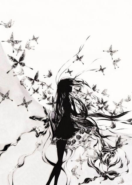 Charmal ilustrações mulheres garotas estilo anime mangá Luar