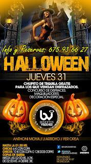 BENDITOS VIERNES 31 de Octubre Halloween