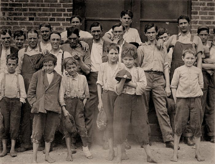Child Labor In America 1908 Vintage Everyday