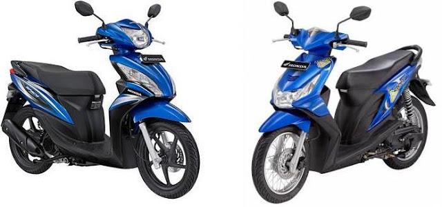 Honda Spacy dan Honda Beat serupa tapi berbeda.JPG