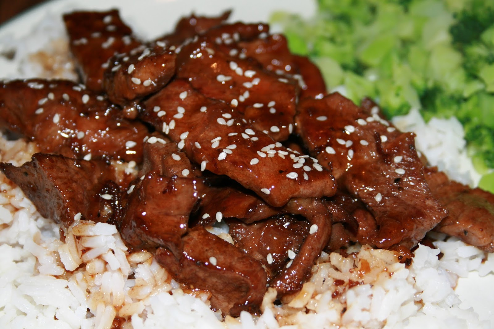 Experiments with Food: Beef Teriyaki