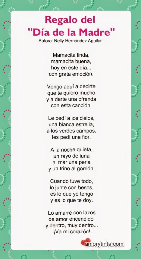 poema para imprimir para el dia de la madre
