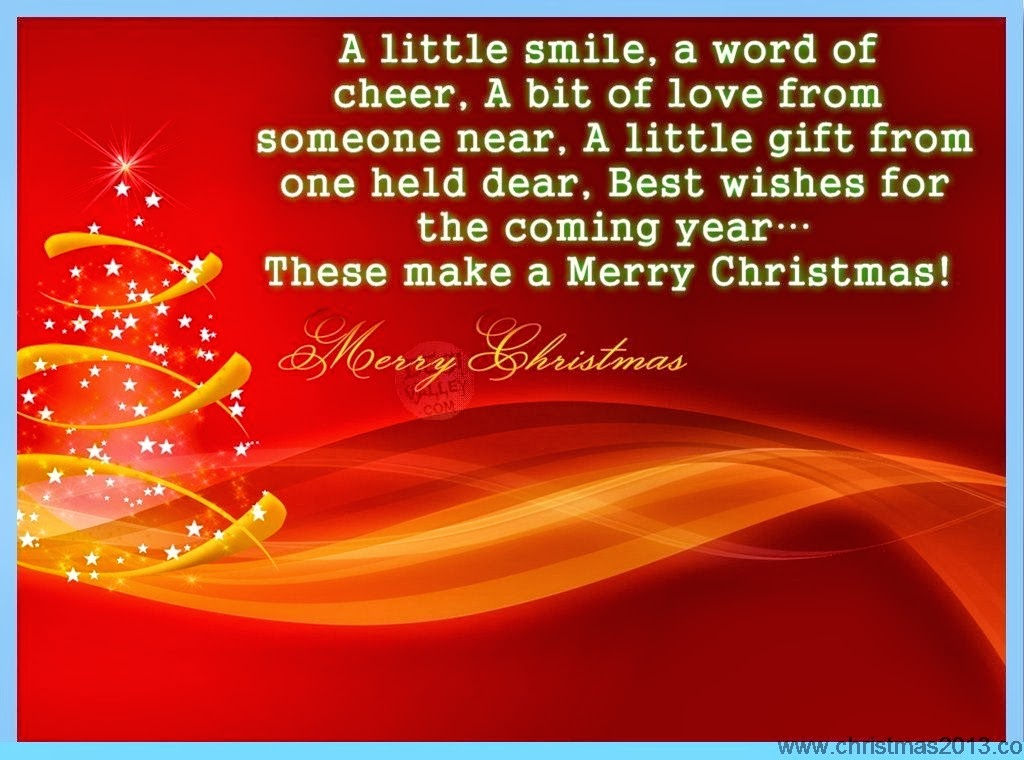 Merry Christmas Wishes Quotes. QuotesGram