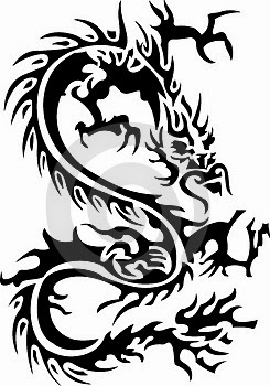 Kumpulan Gambar Tattoo Tribal Naga Foto Aneh Dan Unik Di Dunia Ada