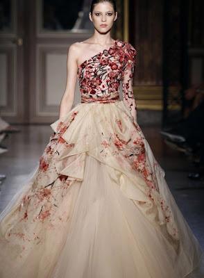 Kabarık Gece Elbisesi Modelleri