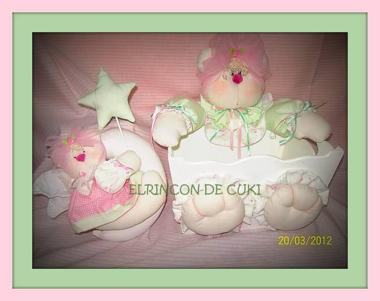 El rincón de cuki   artesanías country: caja portacosmeticos