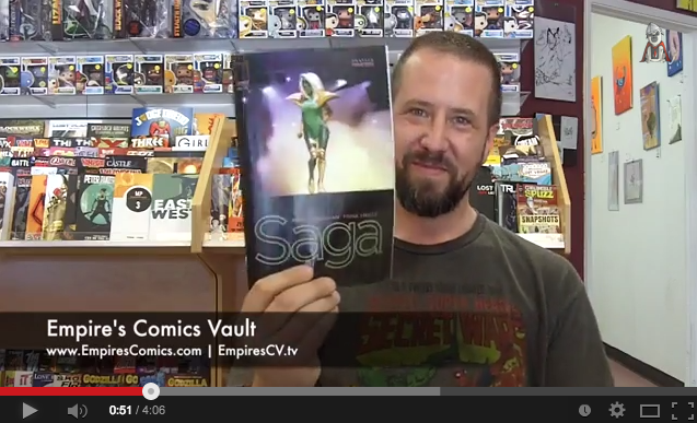Sacramento comic books at Empire's Comics Vault