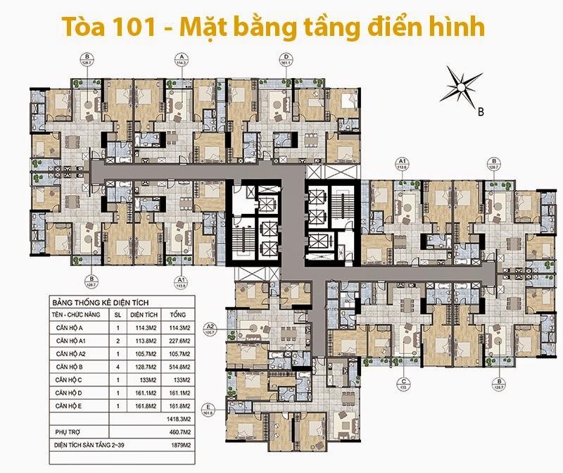 Chung Cư Goldmark City 136 Hồ Tùng Mậu