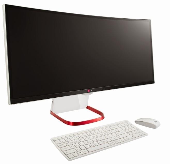 великолепный дизайн моноблока LG 29V950