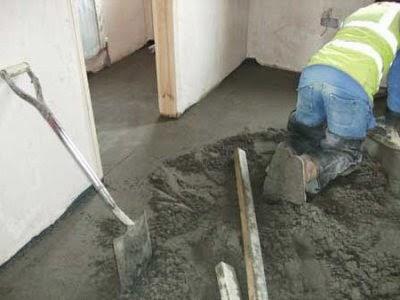 El maestro de obras xavier valderas hacer suelos pavimentos - Como poner baldosas en el suelo ...