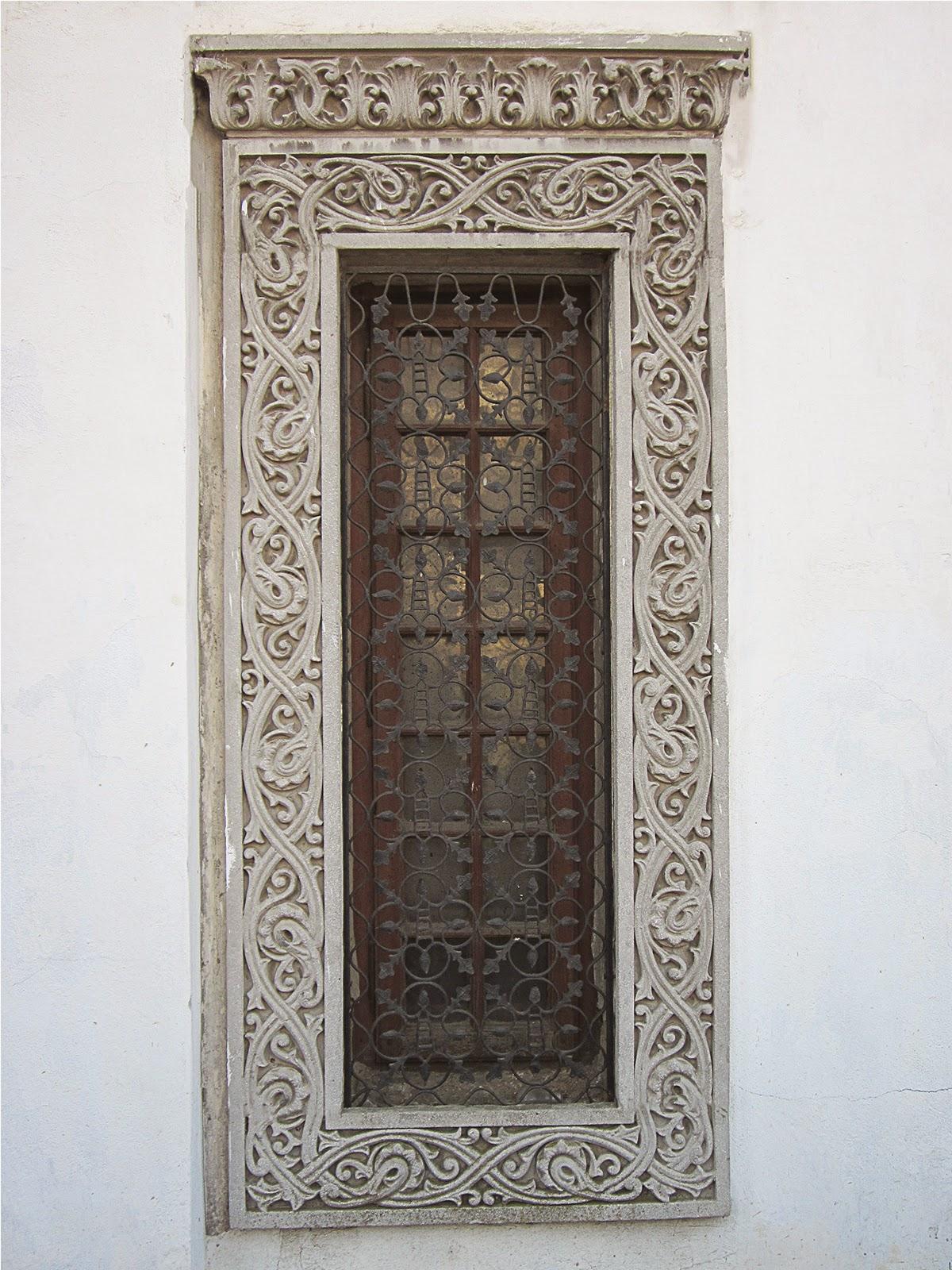 ancadramente polistiren pentru ferestre exterior, fatade case neoromanesti