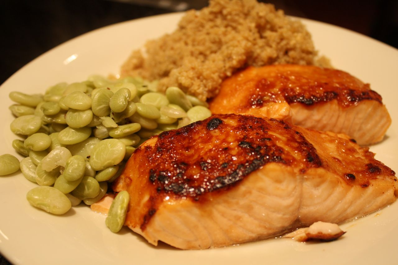 The Roediger House: Meal No. 688: Miso-Glazed Salmon