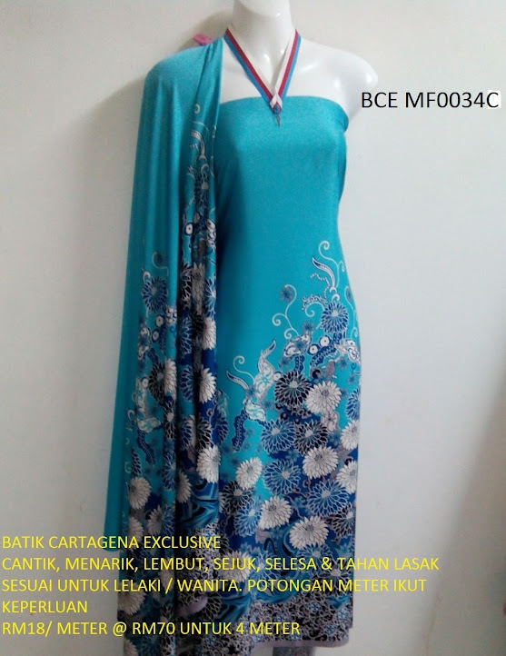 BCE MF0034C: BATIK CARTEGENA EXCLUSIVE
