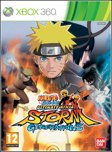 Download Jogo Naruto Shippuden: Ultimate Ninja Storm Generations Xbox 360 NTSC/US 2012