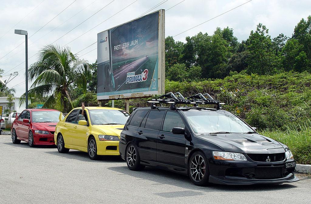 Mitsubishi Lancer Evolution, auta z napędem na cztery koła