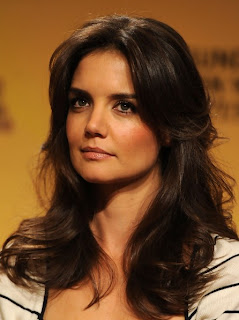 Hairstyles 2013 Katie Holmes long and loose hairstyles