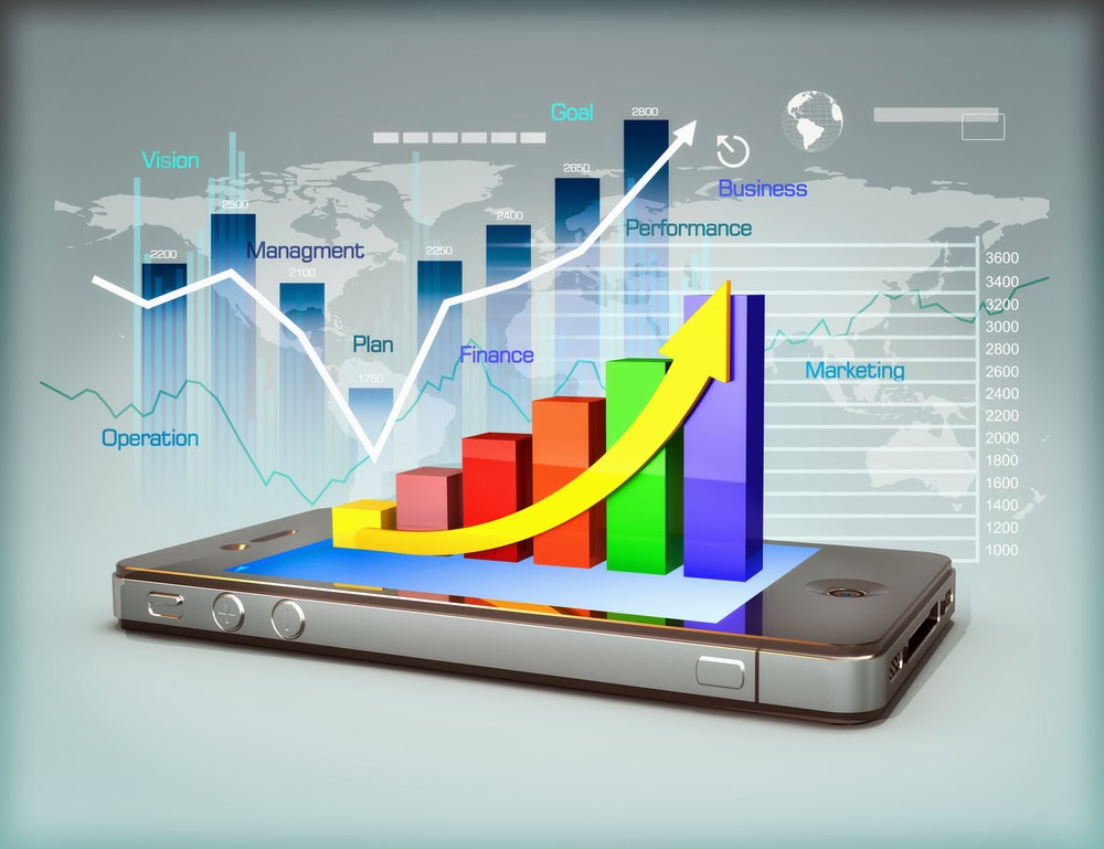 Stock market apps help evaluate investment risk level
