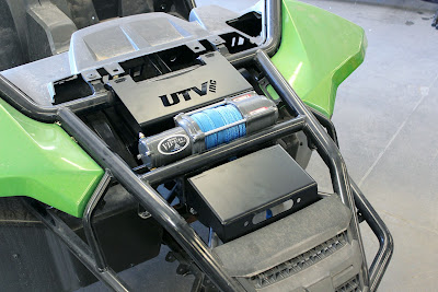 Arctic Cat Wildcat Winch Mount