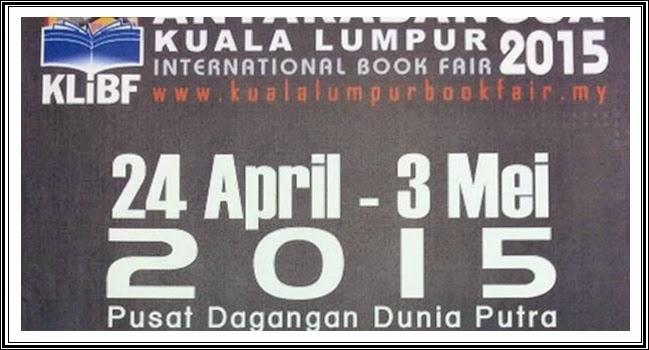 Pesta Buku Antarabangsa di PWTC Kuala Lumpur 24 April 3 Mei 2015
