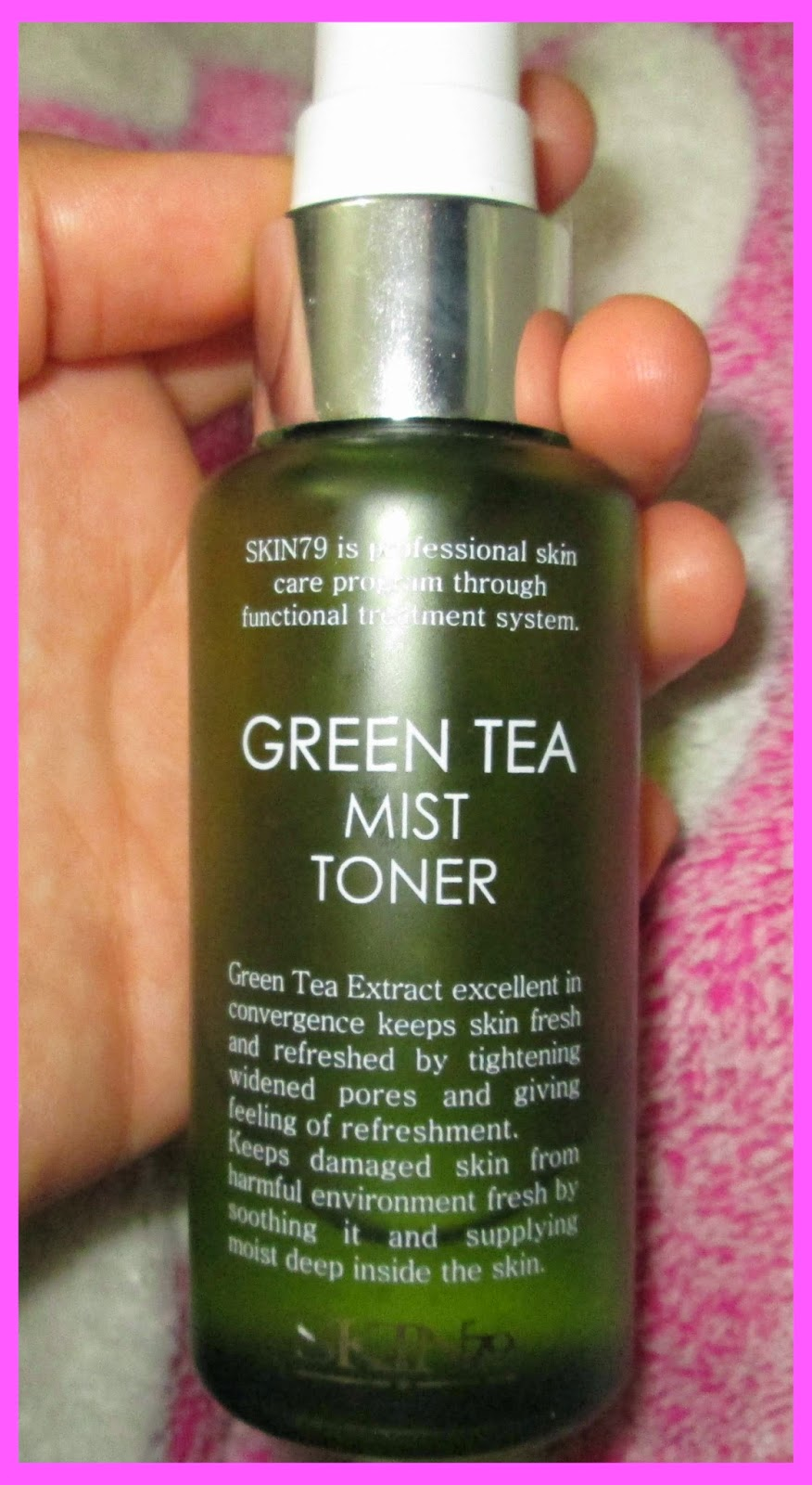 Review Skin79 Green Tea Mist Toner 60ml Beauty Diaries By Marie I Could Probably Attribute The Transformation To But Despite Everything Think Im Ready Part From My Favorite