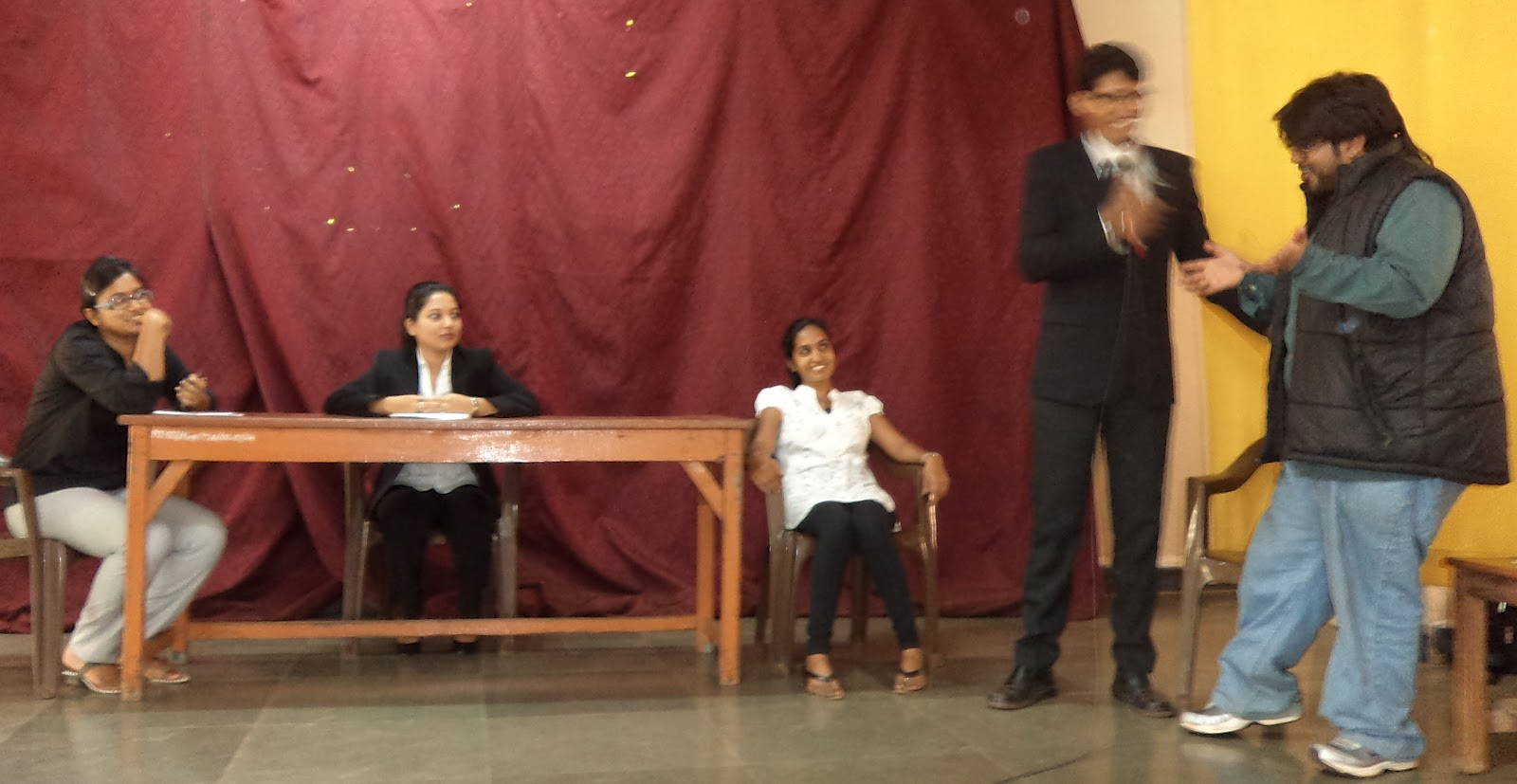 don bosco quepem  mock trial at pope john hss
