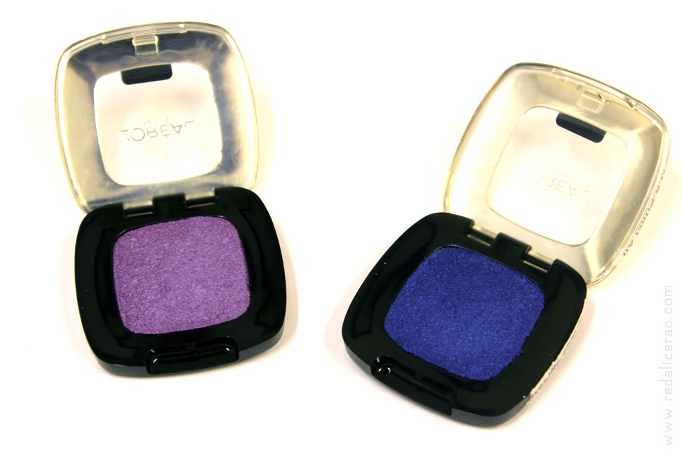 L'Oreal Color RIch Eye Shadows Monos, BEauty, Beauty Blog, Eyeshadows, Blue Eye Shadow, Mauve Eye shadow, Purple Eyeshadow, Blue eyes, Purple eyes, Sombre Eyes, Ombre Eye shadow, Eye Looks, Makeup, Makeup lover, Red alice rao, redalicerao